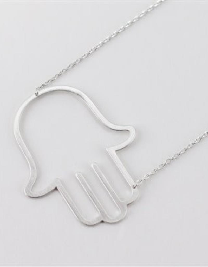 j london m silver initial lou gold anna sideways necklace available of now products