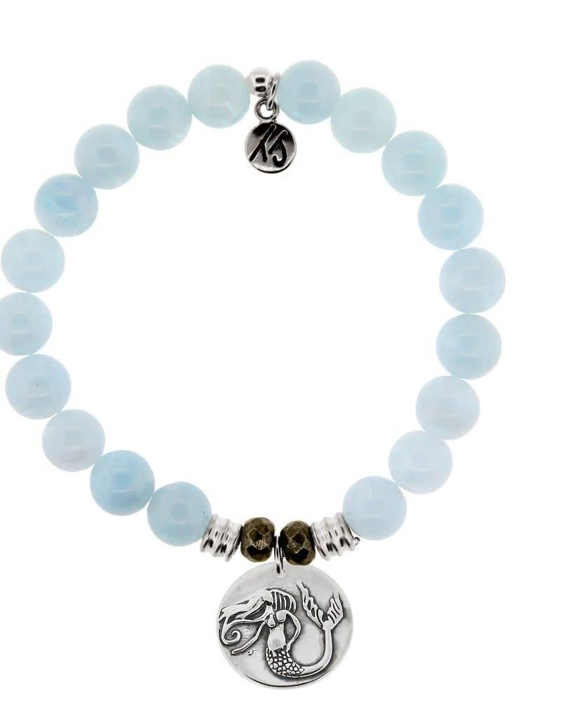 T JAZELLE TJ10492 BLUE AQUAMARINE-MERMAID