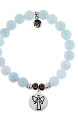 T JAZELLE TJ10480 BLUE AQUAMARINE-GUARDIAN ANGEL