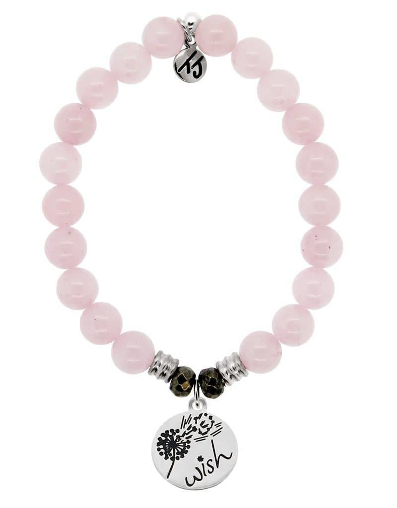 T JAZELLE TJ11485 ROSE QUARTZ-WISH