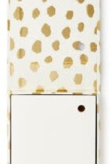 KATE SPADE 175355 Loose Note Holder With Pen, Gold Flamingo Dot