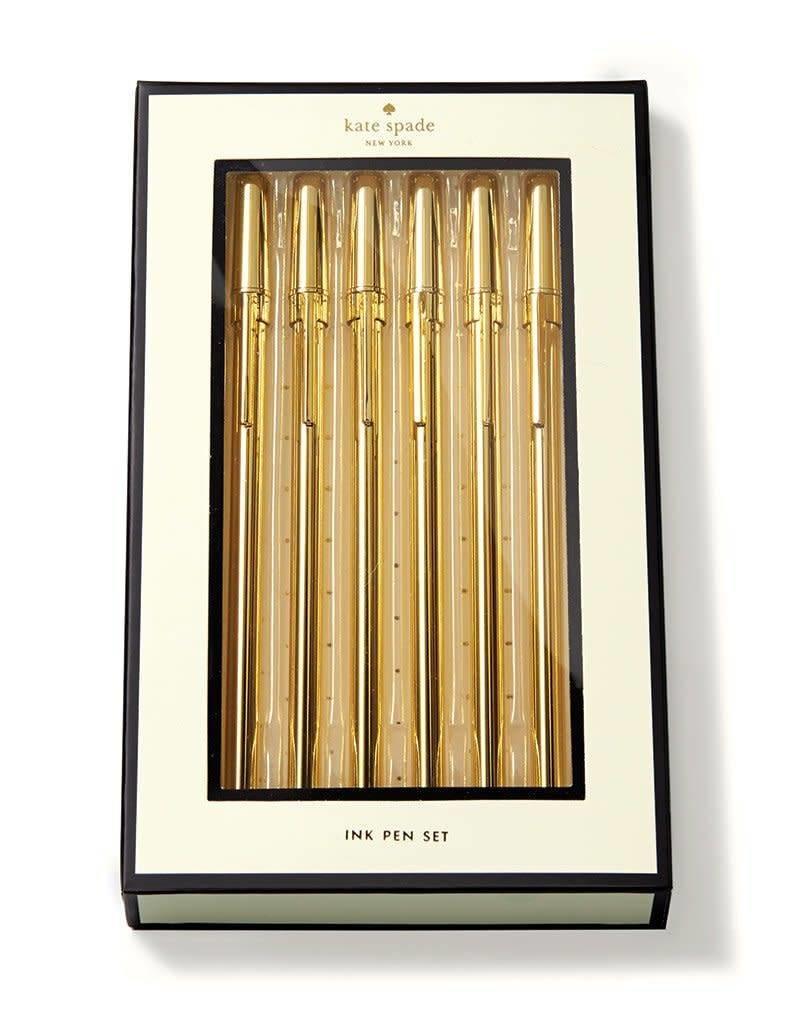 KATE SPADE 156430 Pen Set, Strike Gold