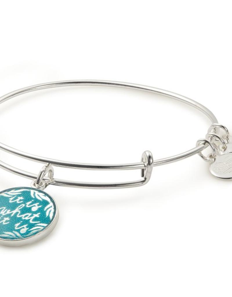 ALEX AND ANI A17EB59SS WORDS ARE POWERFUL, IT IS WHAT IT IS II EWB, SS