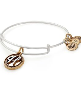 ALEX AND ANI A18EBINT08TTRS INITIAL H II EWB, TWO TONE, RS