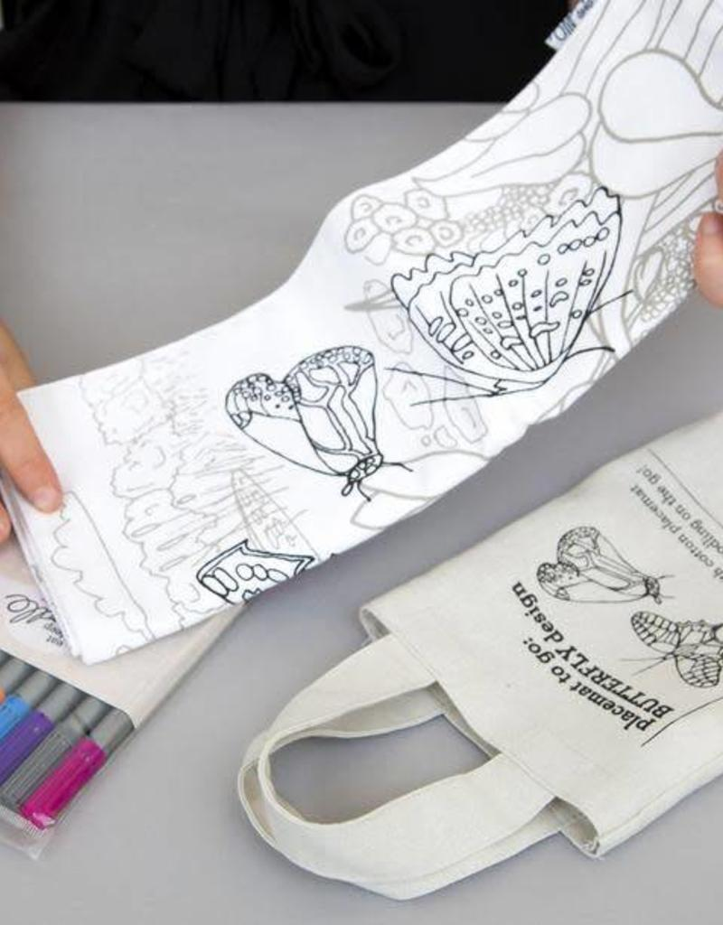 COLOR&LEARN BUTTERFLY PLACEMENT MAT TO GO