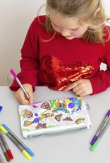 COLOR&LEARN BUTTERFLY PENCIL CASE