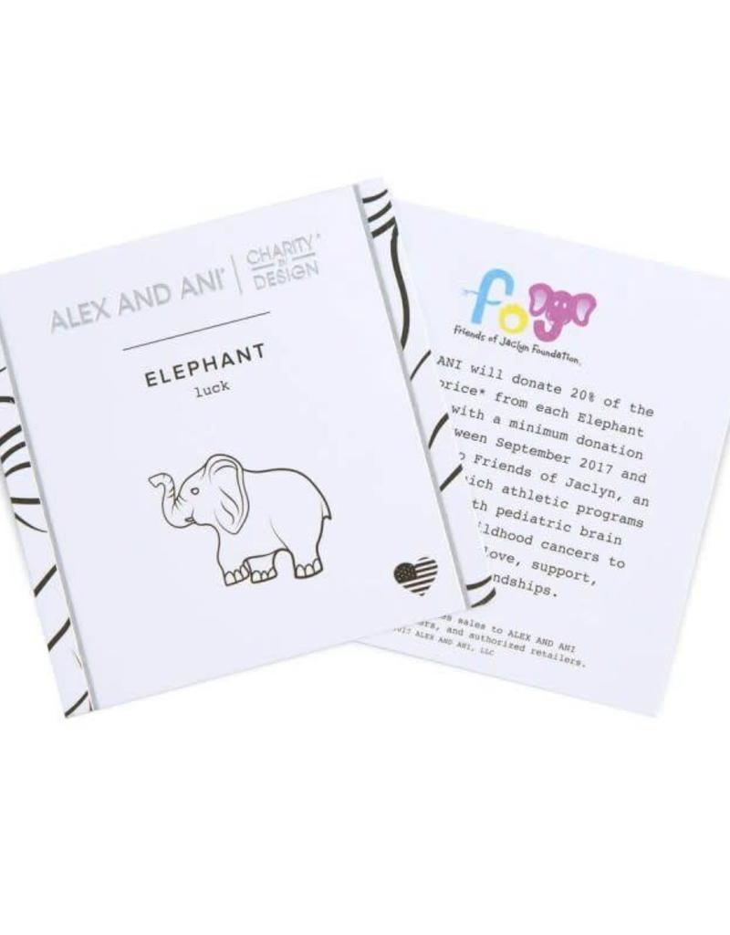 ALEX AND ANI CBD17EFRS CHARITY BY DESIGN, ELEPHANT II EWB, RS