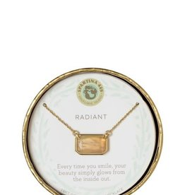 """Spartina 449 951000 NECKLACE 17"""" RADIANT/MO"""
