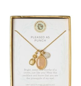 "Spartina 449 950928 NECKLACE 17"" PLEASED/PI"