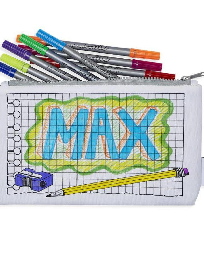COLOR&LEARN DOODLE PENCIL CASE