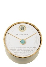 "Spartina 449 512473 SEA LA VIE NECKLACE 18"" REJUVENATE/SEA FOAM DRUZY"