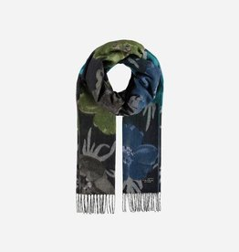 V. FRAAS 625376 Cashmink® scarf with floral design