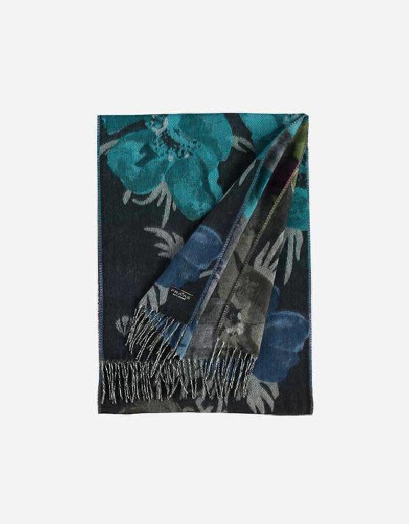 V. FRAAS 625376 Cashmink® scarf with floral design