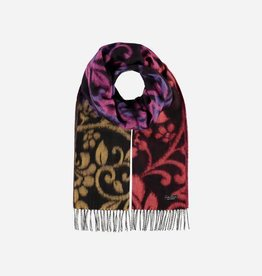 V. FRAAS 625381 Cashmink® scarf with floral design