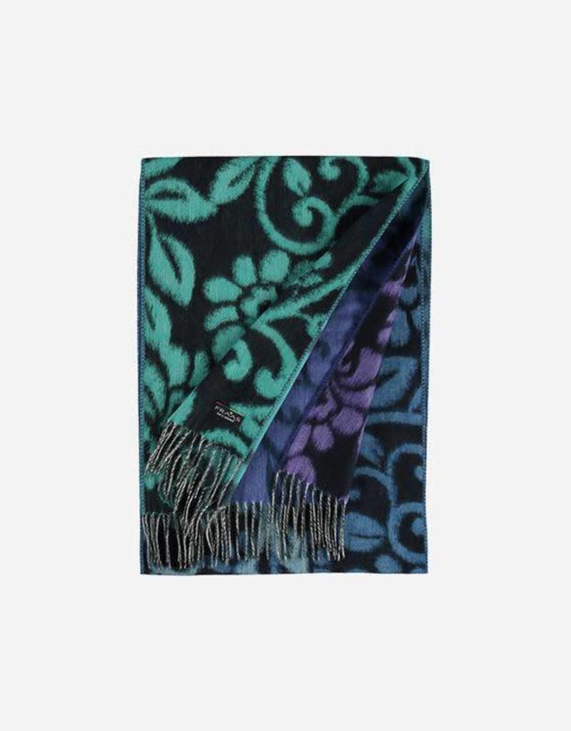 V. FRAAS 625381 Cashmink® scarf with floral design