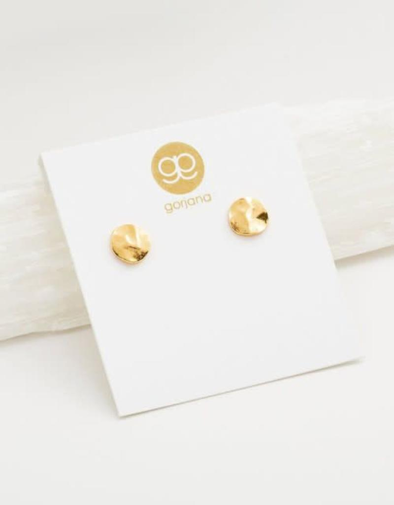GORJANA 102-005-G Chloe Studs (small) (gold)