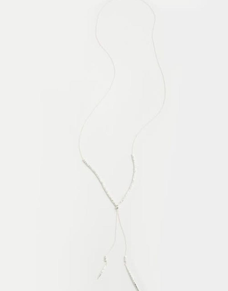 GORJANA 169-108-S Laguna Adjustable Necklace (silver)
