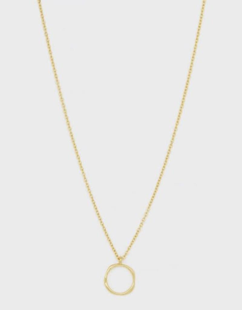 GORJANA 188-104-G Quinn Delicate Adjustable Necklace (gold)