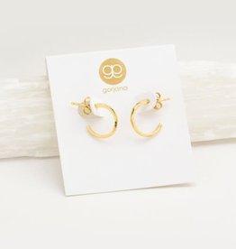 GORJANA 143-019-G Taner Mini Hoops (gold)