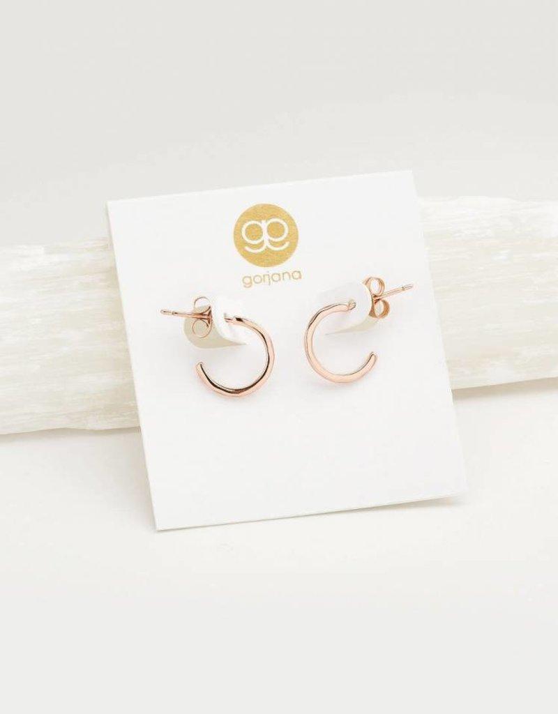 GORJANA 143-019-R Taner Mini Hoops (rose gold)
