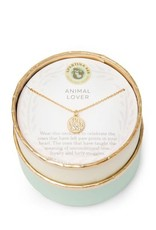 "Spartina 449 965700 SEA LA VIE NECKLACE 18"" ANIMAL LOVER/PAW"