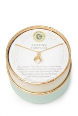 """Spartina 449 965687 SEA LA VIE NECKLACE 18"""" CHASING FIREFLIES/FIREFLY"""
