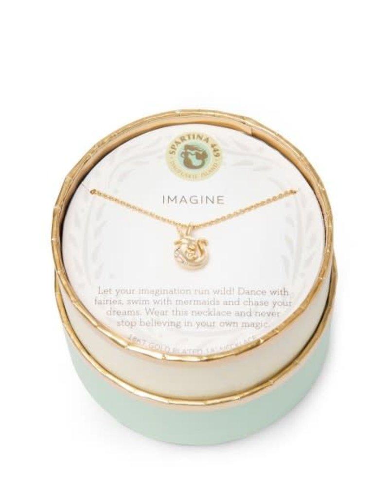 """Spartina 449 965649 SEA LA VIE NECKLACE 18"""" IMAGINE/SEACORN"""