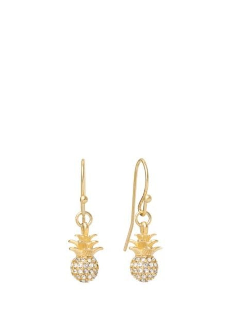 Spartina 449 273106 SPARKLY PINEAPPLE DROP EARRINGS