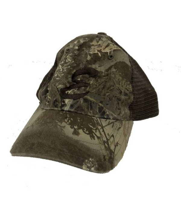 Richardson Washed Camo Trucker Hat Realtree Max Brown Brown E ... 3897ac83773b