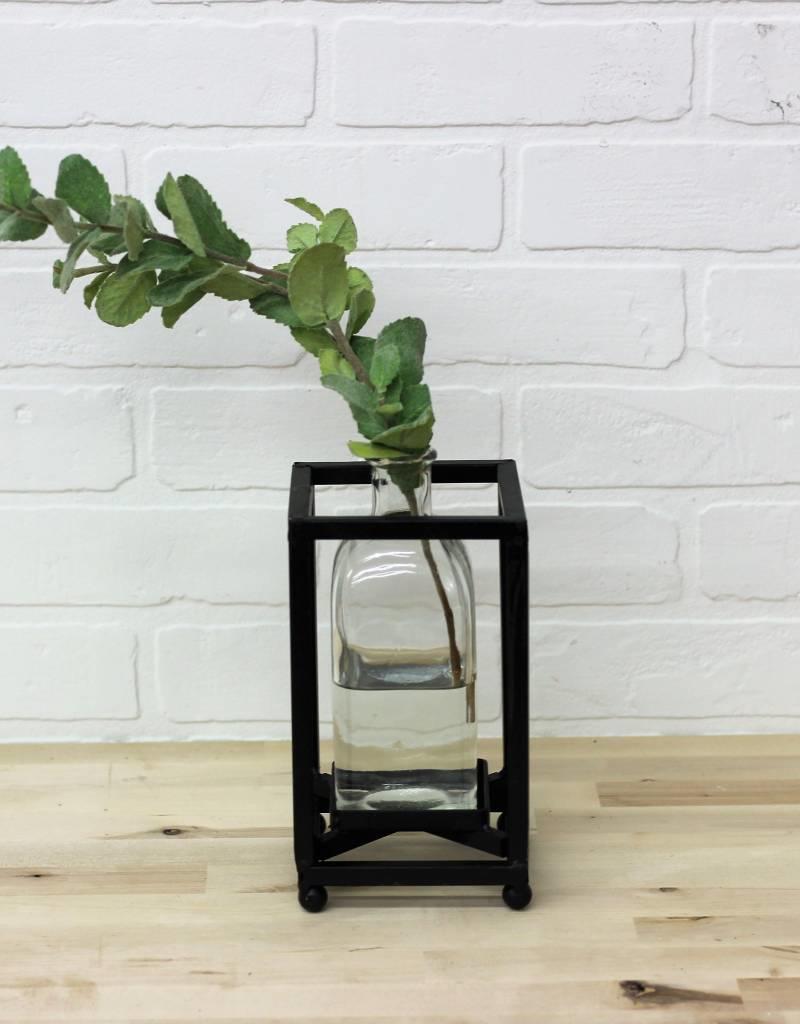 Tin Stem Vase