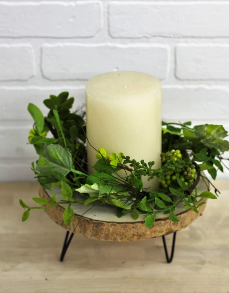 Berry Wreath Candle Ring