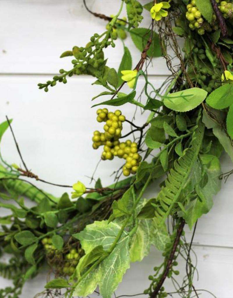 Large  Foliage Berry Wreath