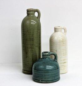 White, Blue, Green Jug Set