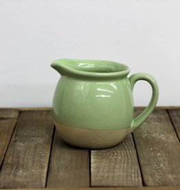 Stoneware Pitcher green