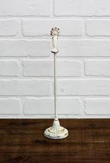 Distressed White  Metal Clip on Stand