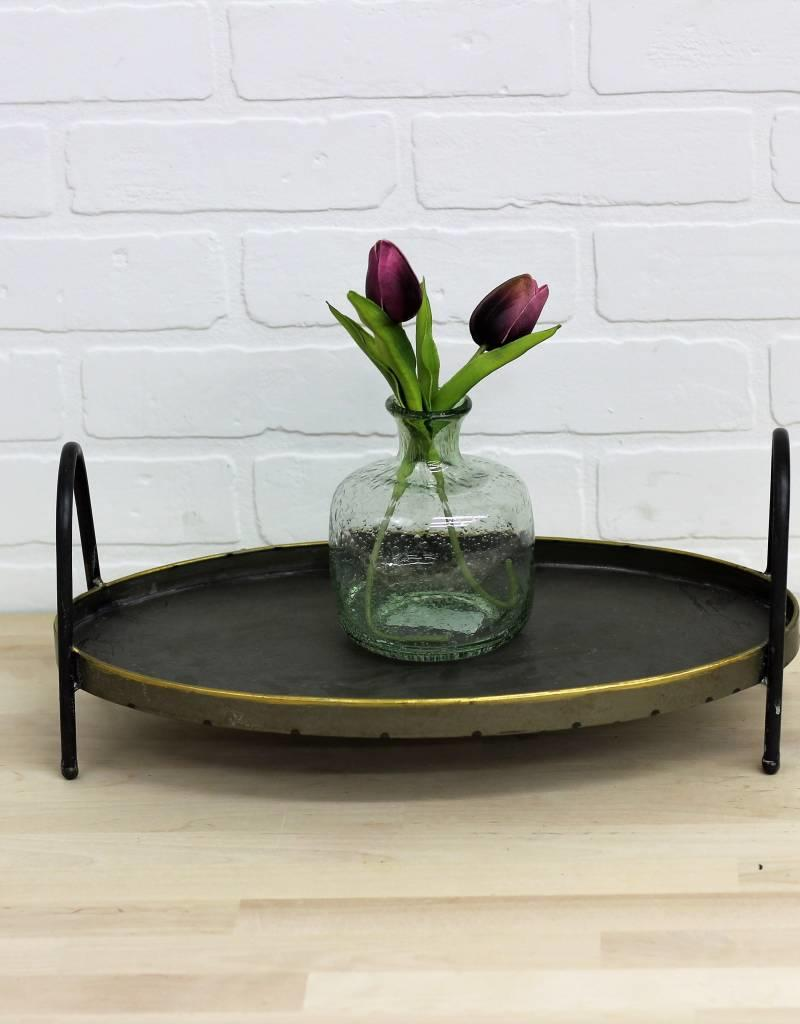 Metal Footed Tray (2 sizes available)