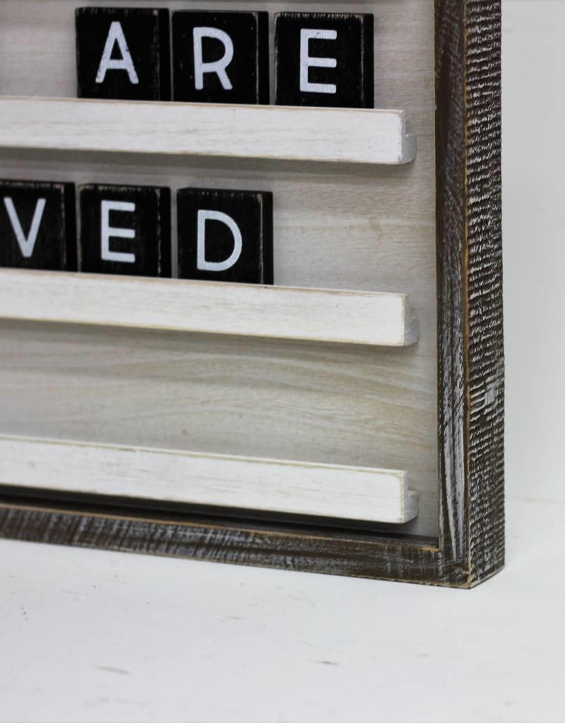 Small Wood Letterboard