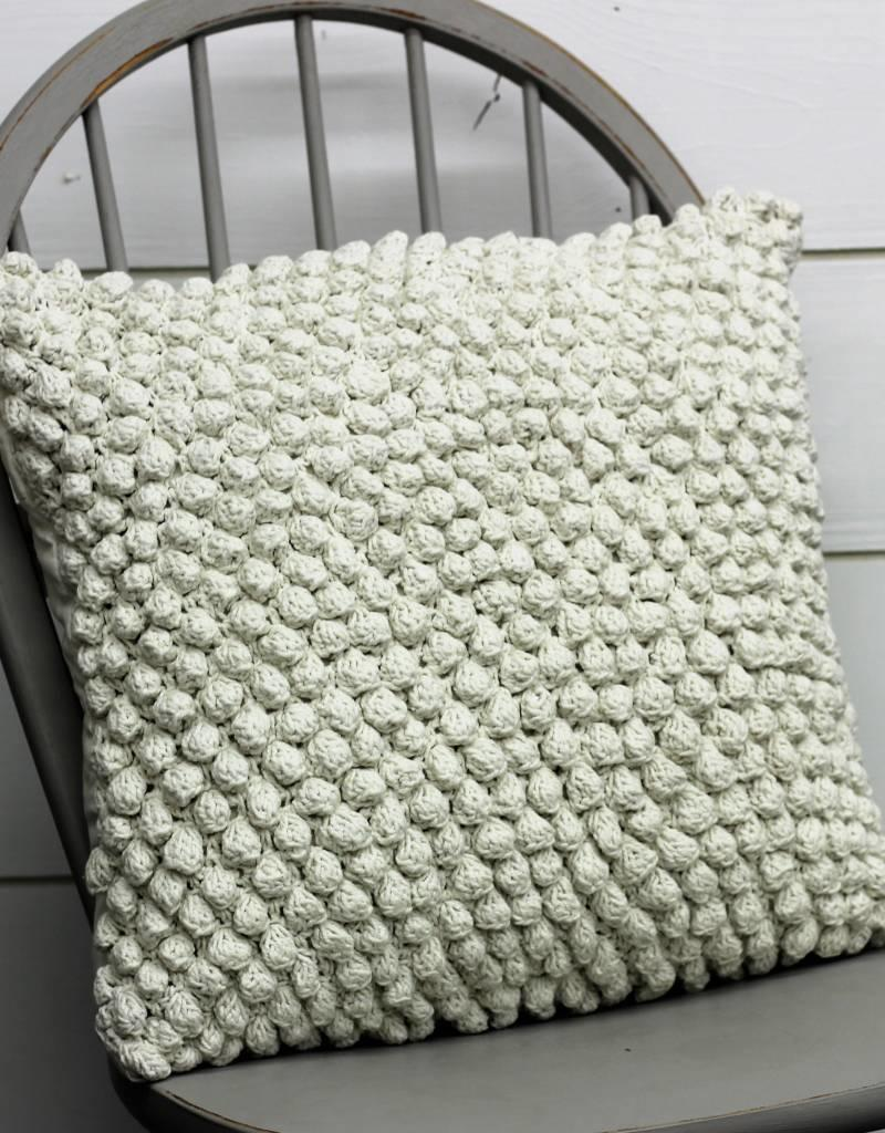 Crochet PomPom Pillow (3 colors)