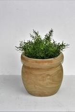 Paulownia Wood Pot