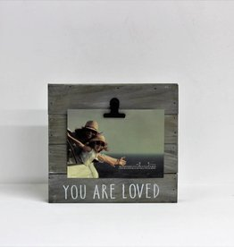 """""""You Are Loved"""" Pallet Clip Photo Frame"""