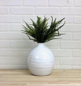 Fat Hand Pottery Vase