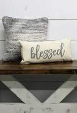 Blessed Felt Applique Pillow