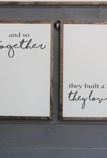 "And So Together....Set 17.5"" x 25.5"""
