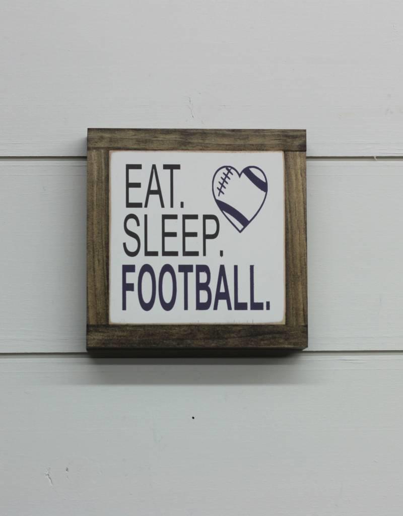 Football Mini W/Heart