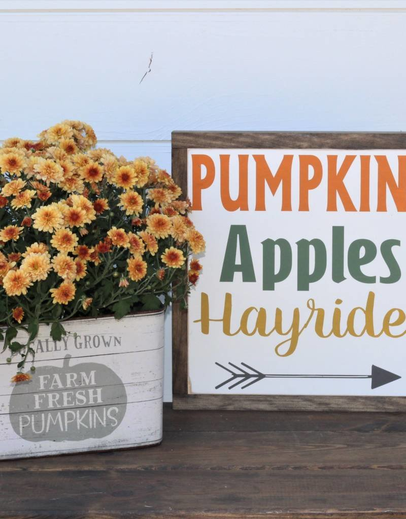 Pumpkins, Apples, Hayrides