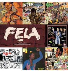 Knitting  Factory Kuti, Fela: Vinyl Box Set #4