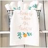 Declaration & Co. Home Heart Tea Towel