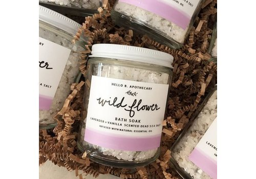 Hello B. Apothecary Wildflower Bath Soak