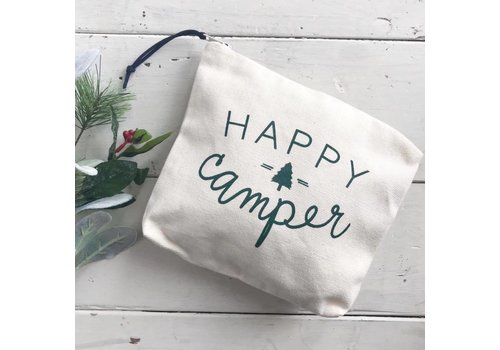 Declaration & Co. Happy Camper Zipper Pouch