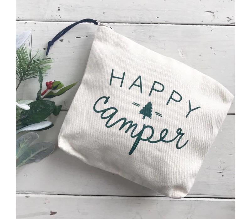 Happy Camper Zipper Pouch